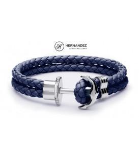 Pulsera Duward Zagros Azul Ancla de Acero  Ref: DT3008.50