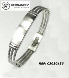 Pulsera de Acero Inoxidable Ref: PU-C3030136