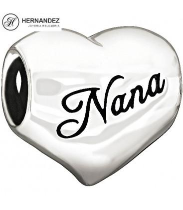 Charm Chamilia I Love Nana Plata de Ley 925 mls Ref: 2010-3131
