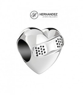 Charm Chamilia Heart of A Nurse Plata de Ley 925 mls