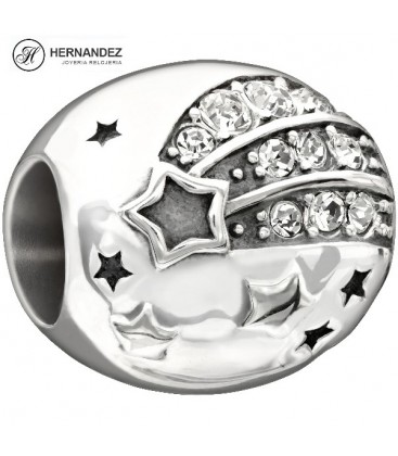 Charm Chamilia Reach For The Stars Cristal Swarovski Plata de Ley 925 mls