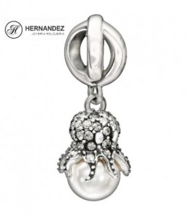 Charm Chamilia Octopus Swarovski Plata de Ley 925 mls