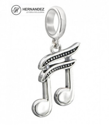 Charm Chamilia High Note Music Plata De Ley 925 mls