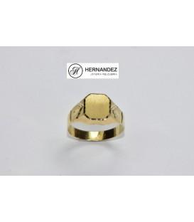 Sello Comunion Cuadrado Oro de Ley 18 kts Ref: 26102