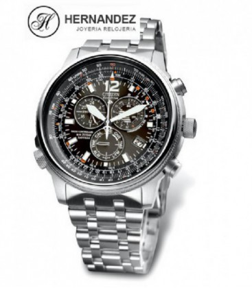 Reloj Citizen Cronografo Radio Controlado Ref: AS4020-52E