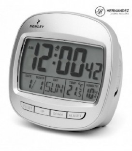 Reloj Despertador Digital Nowley Ref: 7-8614-0-1