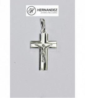 Más sobre Cruz con Cristo Plata de Ley 925 mls Ref: CR-94A95