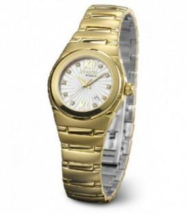 Reloj Duward Diplomatic Paris Mujer de Acero Dorado Ref : D25406-11