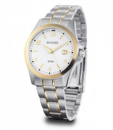 Reloj Duward Elegance Moderns Hombre de Acero Bicolor Ref: D94180.41