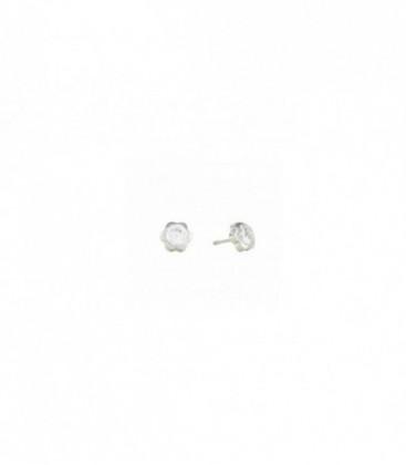 Pendientes de Bebe circonitas oro blanco de 18 kts Ref: 03-5-P-08