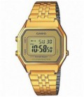 Reloj Casio Digital Acero Dorado de Mujer Ref: LA680WGA-9DF