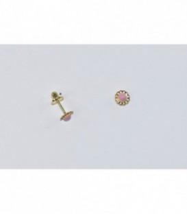 Más sobre Pendientes de Bebe esmaltado de oro de ley de 18 kts Ref: 1TO138