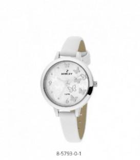 Reloj Nowley Comunion Analogico Correa Material Blanco Ref: 8-5793-0-1