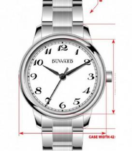 Reloj Duward Analogico Acero Ref: D95303.02