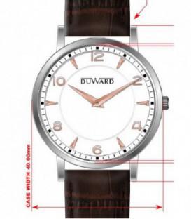 Reloj Duward Analogico Piel Ref: D85100.01