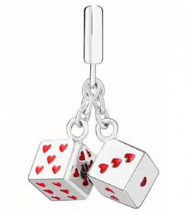 Charm Chamilia Roll The Dice Plata de Ley 925 mls Ref: 2020-0852