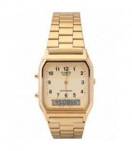 Reloj Casio Analogico Digital Dorado Ref: AQ-230GA-9BMQ