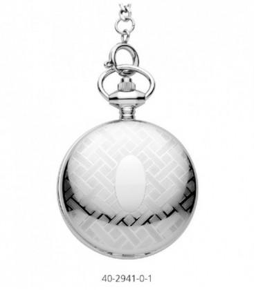 Reloj Potens London de Bolsillo Analogico Acero Inoxidable Ref: 40-2941-0-1