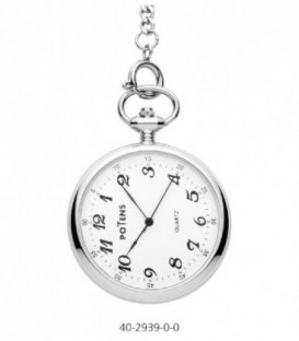Reloj Potens London de Bolsillo Analogico Acero Inoxidable Ref: 40-2939-0-0