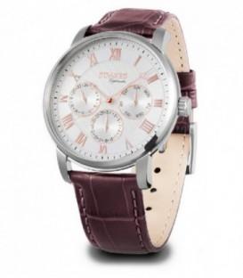 Reloj Duward Diplomatic Sarajevo Hombre de Correa piel Marron Ref : D85708-01
