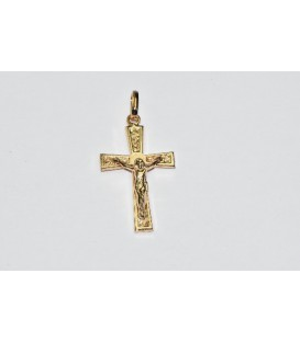 Más sobre Cruz con Cristo Oro de Ley 18 kts Ref: 20704