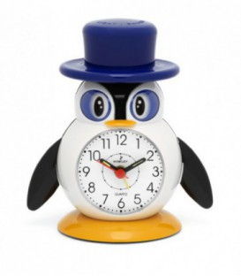 Reloj Despertador Pinguino Nowley Digital Ref : 7-8543-0-1