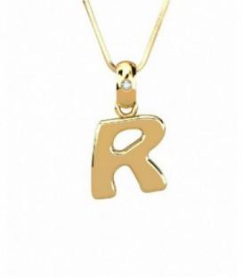 Gargantilla R Diamante 0,01 Cts Oro de Ley 18 kts Ref : GA-1571098918
