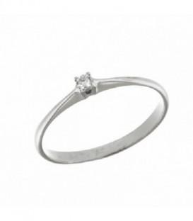 Sortija Diamantes 0,08Cts Oro de Ley 18 kts Ref : SO-RQ2771BDT